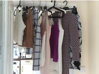 Bundle of Top Shop/River island/New Look clothes. Size 6