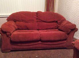 Two seater settee/sofa