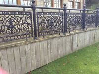 Morecambe Pier Panel high quality ornate metal railings/fencing system