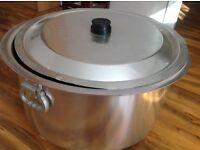 Kitchen cooking pot large 60cm dia