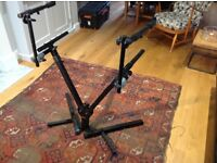 Quik-lok two-tiered keyboard stand for sale