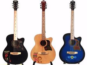 Acoustic Guitars Nice Look ! 40 inch for beginners, students, adults Brand new Free 5 picks iMusicGuitar