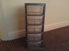 Small 5 drawer tower