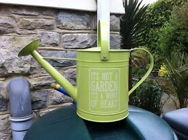 Metal Watering Can NEW