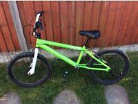 Boys or girls bmx fox/monster bike