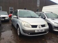 2003 RENAULT SCENIC 1.5 DIESEL BREAKING FOR PARTS ONLY POSTAGE AVAILABLE NATIONWIDE