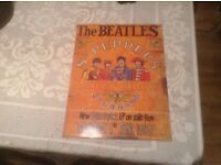 Vintage Beatles tin sign.