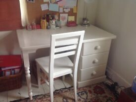 Dressing table/desk and chair by Aspace