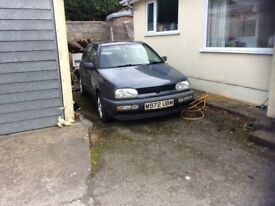 Vw golf mark3 1.8petrol