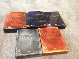 Merlin Boxset Series 1 - 5