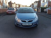 LOW Mileage 49000 Miles Vauxhall Corsa 1.2 club 5dr hatchback petrol manual full history £1850