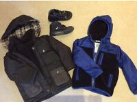 Boys Cosy Jackets & Geox shoes