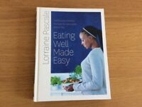 Cook book Eating well made easy Healthy recipes