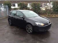 2012 Volkswagen Golf 1.6 TDI Match DSG Auto Company Car only £6950