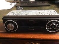 In Phase IPS Car Stereo with FM radio USB /SD. Great sound , just needs plugged in