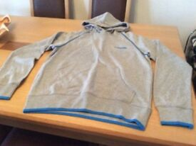 Men's/Woman's McKenzie Hoodie Grey/turquoise - Brand New - £10