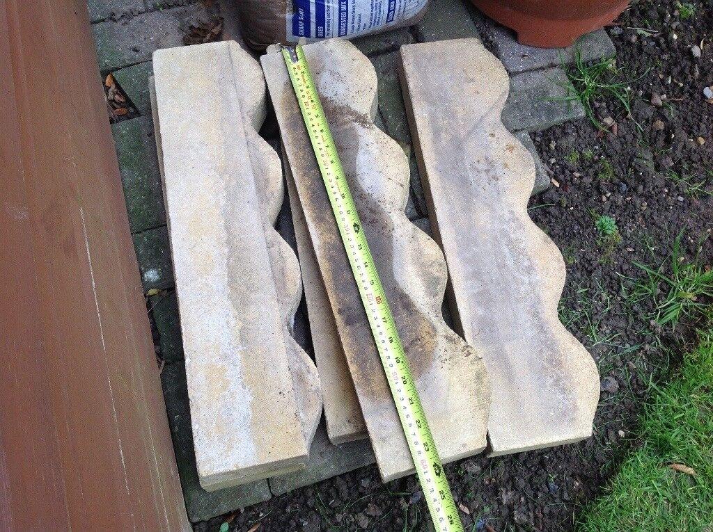 Garden edging strips x 5