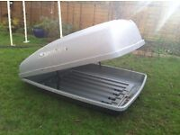 Roofbox - Paddy Hopkirk Continental with roof bars