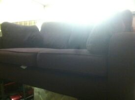 sofa bed with arm chair