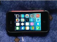 IPhone 4 with Case and Charger plus £10 PAYG sim on 02