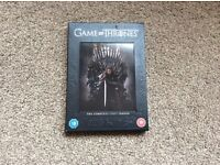 Game of Thrones DVD - complete season 1