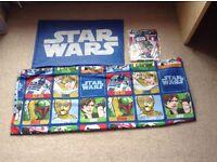 """Children's """"Star Wars"""" single duvet cover set"""