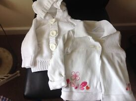 Baby girl cardigans aged 3/6 months