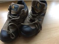 Grafters safety boots size 4