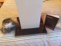 70cm stainless steel cooker hood extractor. In new condition, never fitted, unmarked. 3 speed fan.