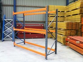 DEXION HEAVY DUTY INDUSTRIAL COMMERCIAL WAREHOUSE LONGSPAN PALLET RACKING UNIT