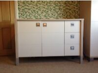 Designer Childrens Wardrobe and Chest of Drawers