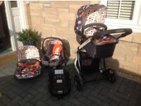 Coastto Giggle 2 Travel System, Fable.