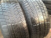 Winter tyres 255/55/18- Michelin latitude alpin / £75.. Unit 90 fleet road ig117bg