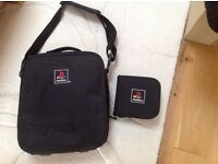 PlayStation carry bag and games case