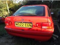 Ford Escort low mileage
