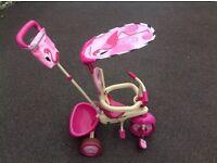 Pink safari trike