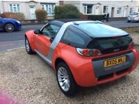 Rare glass hatchback cab, full service history 9 stamps, new MOT, Bluetooth stereo, AC, elec roof