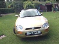 Much loved 'GOLDIE' not being used as lady owner too busy and husband wants her garage. MOT