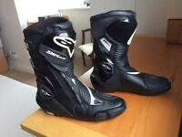 Alpinestars smx plus goretex motorcycle boots size eu47