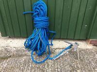 1.4kg Dinghy Anchor & Rope