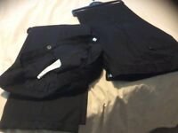 Black lined trousers for 13years old boy. Excellent condition.