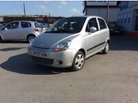 Chevrolet MATIZ, 1.0, 5 door with only 67,000 miles, We are open 7 days, Part ex welcome on all cars