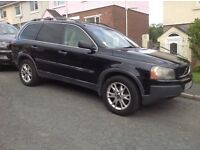 Volvo XC90 for sale low price for quick sale usual specs I.e. Air con . Winter pack,
