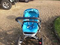 Quinny Buzz 4 pushchair combination