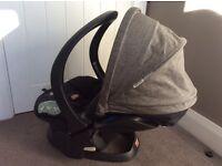 Stokke iZi Go Group O rear facing baby car seat with ISOfix base