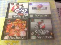 PlayStation one PS1 games X34 job lot
