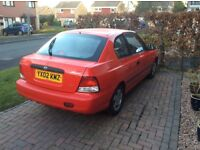Hyundai Accent 1.3i 3door for sale