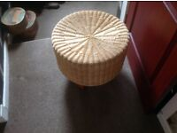 Wicker stool/chair