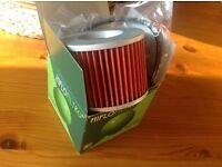 New-Hi Flo Oil Filter HF 401 Kawasaki ZX Honda CB Yamaha FZ..New in its box with seals..