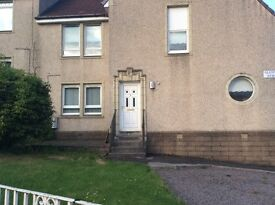 Two bedroom lower flat, driveway and garden. Situated in Glenmavis close to all amenities.